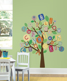 ABC Primary Tree Peel & Stick Giant Wall Decal Wall Decal
