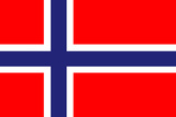 Norway National Flag Plastic Sign Plastic Sign