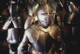 Suits of Armor, Graz, Styria, Austria Photographic Print by Walter Bibikow