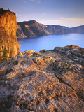 Rim of Crater Lake, Crater Lake National Park, Oregon, USA Photographic Print by Charles Gurche