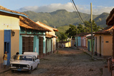Early Morning View of Streets in Trinidad, Cuba Photographic Print by Adam Jones