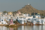 Pushkar Shore, Pushkar, India Photographic Print by David Noyes