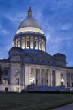 Arkansas State Capitol Exterior at Dusk, Little Rock, Arkansas, USA Fotografie-Druck von Walter Bibikow