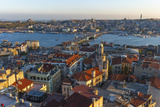 Karakoy, Eminonu and Galata Bridge, Istanbul, Turkey Photographic Print by Ali Kabas