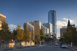 City Skyline, Oklahoma City, Oklahoma, USA Photographic Print by Walter Bibikow