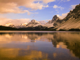 Bow Lake, Banff NP, Alberta, Canada Photographic Print by Charles Gurche