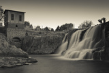 Sioux Falls Park at Dusk, Sioux Falls, South Dakota, USA Photographic Print by Walter Bibikow