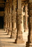 The Qutub Minar Complex, Delhi, India Photographic Print by David Noyes