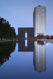 Oklahoma City National Memorial, Oklahoma City, Oklahoma, USA Photographic Print by Walter Bibikow