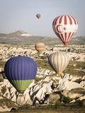 Sunrise Balloon Flight, Cappadocia, Turkey Photographic Print by Matt Freedman
