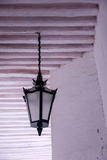 Detail Shot of Elegant Light Fixture, Mozambique Island, Mozambique Photographic Print by Alida Latham