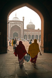 Jama Masjid Mosque, Delhi, India Photographic Print by David Noyes