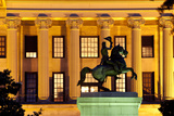 Andrew Jackson Statue Silhouette, Nashville, Tennessee, USA Photographic Print by Brian Jannsen