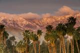 Jacinto and Santa Rosa Mountain Ranges, Palm Springs, California, USA Reproduction photographique par Richard Duval