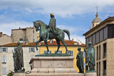 Napoleon Statue, Place General Degaulle, Ajaccio, Corsica, France Photographic Print by Walter Bibikow