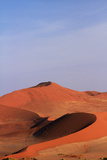 Sand Dune at Sossusvlei, Namib-Naukluft National Park, Namibia Photographic Print by David Wall