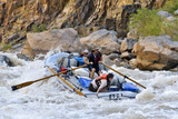 Rafters Going Through Rapids, Grand Canyon National Park, Arizona, USA Photographic Print by Matt Freedman