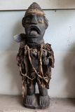 Congolese Fetish Object at Ma-Loango Museum, Diosso, Republic of Congo Photographic Print by Alida Latham