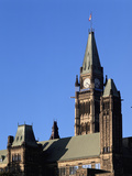 Canadian Parliament, Parliament Hill, Ottawa, Ontario, Canada Photographic Print by Walter Bibikow