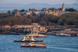 Topkapi Palace and Ferries, Istanbul, Turkey Photographic Print by Ali Kabas