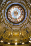 Kansas State Capital Interior, Topeka, Kansas, USA Photographic Print by Walter Bibikow