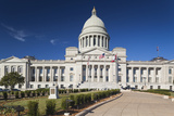 Arkansas State Capitol Exterior, Little Rock, Arkansas, USA Photographic Print by Walter Bibikow