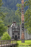 View of Chief Shakes Tribal House, Wrangell, Alaska, USA Photographic Print by  Jaynes Gallery