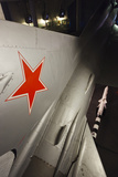 Cold War Soviet Mig Fighter Aircraft, Caen, Normandy, France Photographic Print by Walter Bibikow