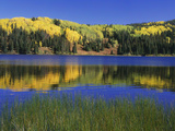 Autumn Scenic at Lost Lake, Gunnison National Forest Colorado, USA Photographic Print by  Jaynes Gallery