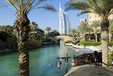 The Burj Al Arab , Dubai, United Arab Emirates Fotografie-Druck von Bill Bachmann