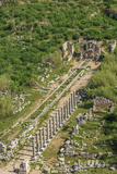 Aerial View of Perge, Antalya, Turkey Photographic Print by Ali Kabas