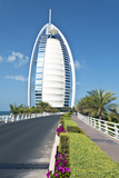 The Burj Al Arab , Dubai, United Arab Emirates Fotodruck von Bill Bachmann