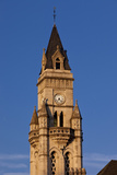 Customs House Clock Tower in Nashville, Tennessee, USA Photographic Print by Brian Jannsen