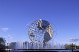 Unisphere, Flushing Meadow Park, Queens, New York, USA Photographic Print by Peter Bennett