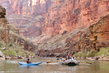 Rafters and Cliffs, Grand Canyon National Park, Arizona, USA Photographic Print by Matt Freedman