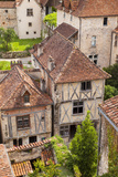 Half-Timbered Buildings in Saint-Cirq-Lapopie, Midi-Pyreness, France Photographic Print by Brian Jannsen