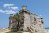 Cojimar Fort Built on Water, Cojimar, Havana, Cuba Photographic Print by Bill Bachmann