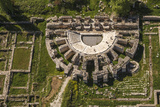 Aerial View of Aphrodisias, Aydin, Turkey Photographic Print by Ali Kabas