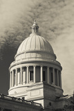 Arkansas State Capitol Exterior, Little Rock, Arkansas, USA Fotografie-Druck von Walter Bibikow