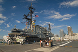Retired Aircraft Carrier Uss Midway, San Diego, California, USA Photographic Print by Richard Duval