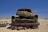 Derelict Truck Near Fish River Canyon, Southern Namibia Photographic Print by David Wall