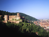 Heidelberg Castle, Baden-Wuttermberg, Germany Photographic Print by Walter Bibikow