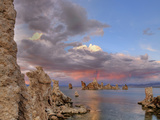 Sunset Reflection on Clouds over Lake, Mono Lake, California, USA Photographic Print by  Jaynes Gallery