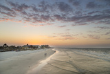 Sunrise at Fort Myers Beach, Florida, USA Stampa fotografica di Chuck Haney