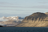 Landscape, Sassenfjorden, Spitsbergen, Svalbard, Norway Photographic Print by Steve Kazlowski