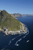 Aerial of Bos 400 Shipwreck, Duiker Point, Cape Town, South Africa Photographic Print by David Wall
