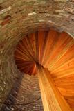 Spiral Stairs, St George Lighthouse, St George Island, Florida, USA Photographic Print by Joanne Wells