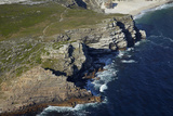 Aerial of Cape of Good Hope, Cape Peninsula, Cape Town, South Africa Photographic Print by David Wall