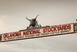 Entrance, Oklahoma National Stockyards, Oklahoma City, Oklahoma, USA Photographic Print by Walter Bibikow