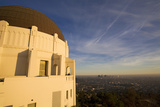 Griffith Observatory and Los Angeles Skyline, California, USA Photographic Print by Peter Bennett
